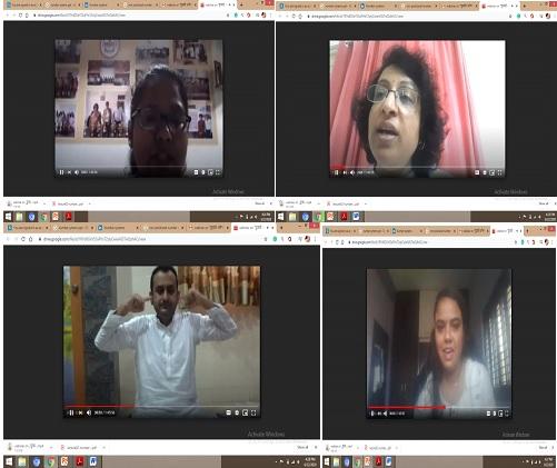 "A Webinar, ""युज्यते अनेन इति योगः"" organized by  MBIT on 21st June 2020"