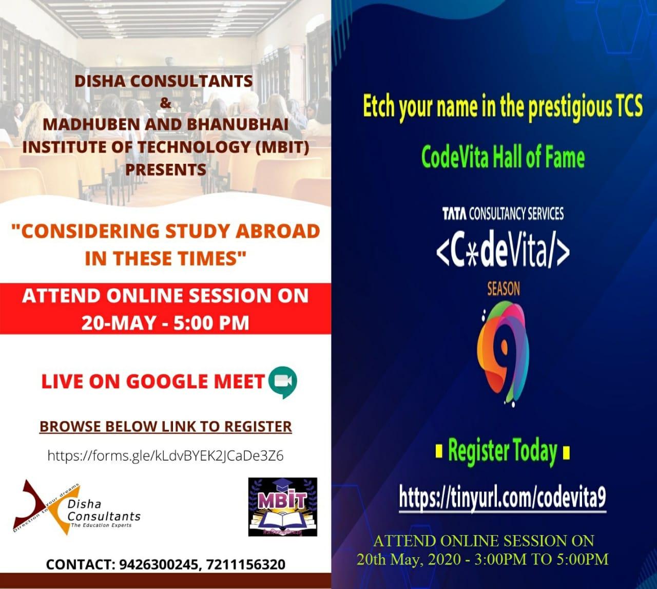 TCS Codevita & Disha Consultancy